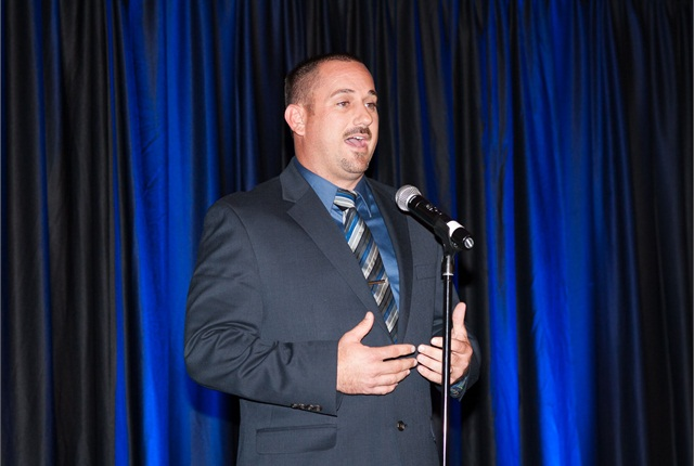 Vince Lorefice, public works director, Town of Wickenburg, Ariz., won the general election for president‐elect. Photo courtesy of RMFMA.