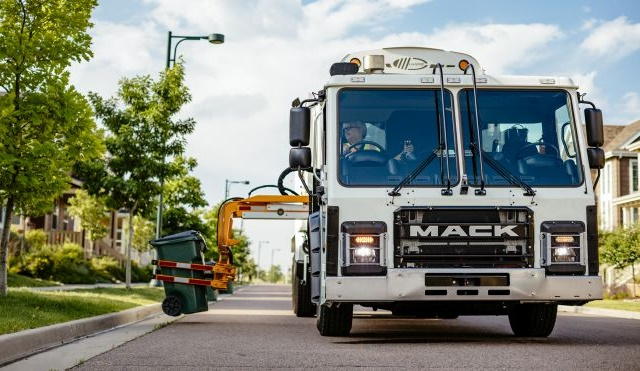 Mack Trucks LR and TerraPro models are now available with the Cummins Westport L9N natural gas engine. Photos: Mack Trucks