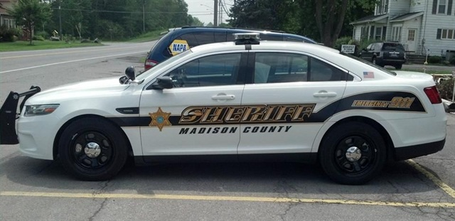 The Madison County Sheriff's Office's new police vehicle decals. Photo via facebook/Madison County Sheriff's Office - NY