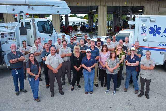 Manatee County, Fla., fleet team. Photo courtesy of Manatee County