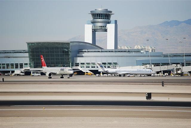 Photo of McCarran International Airport via Wikimedia/Eddie Maloney