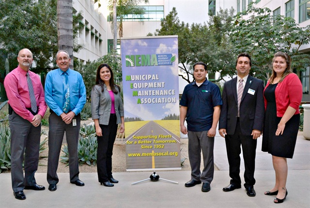 Pictured are 2014 MEMA board members (l-r): Craig Crowder, treasurer; Ron Lindsey, vice president; Jannet Malig, secretary; Dean Tedtaotao, sergeant at arms; Paul Condran, president; and Katie Mishler, membership and association coordinator.