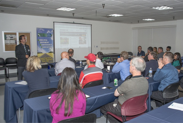 Paul Condran, MEMA president, led the May 21 association meeting. Photo by Kelly Bracken