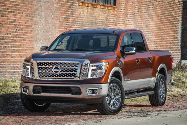 Photo of the 2017 Titan Crew Cab courtesy of Nissan.