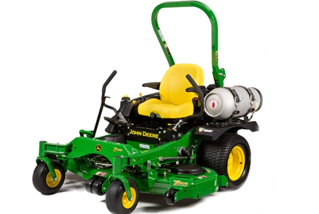 John Deere's propane mower is one of the many mowers on the incentive list. Photo courtesy of John Deere.