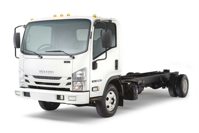 Photo of 2016 NPR Diesel courtesy of Isuzu.