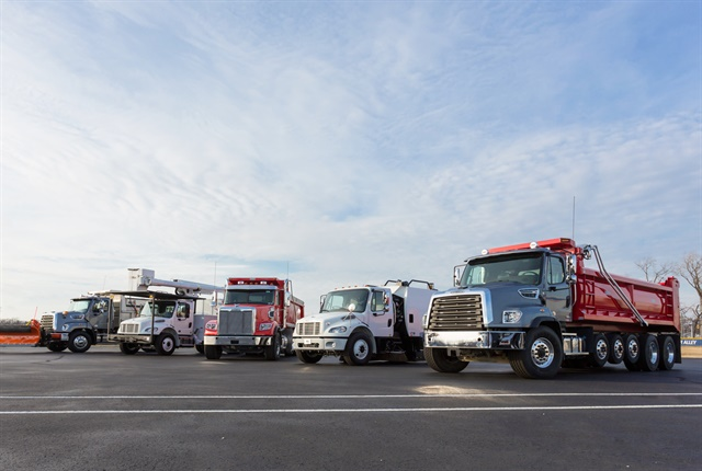 Freightliner launched its severe-duty product line in 2011, and has since expanded the line with product enhancements and additional options. Photo: Daimler