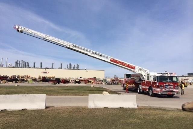 Photo via facebook/Palo Alto Fire Department