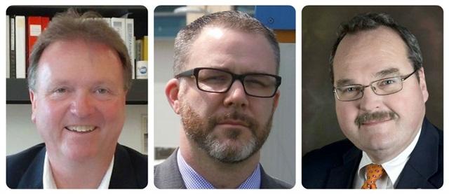 (L-R) Brennan, Griffiths, Reagan