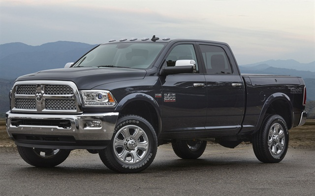 Photo of Ram 2500HD off-road 4x4 courtesy of FCA US.