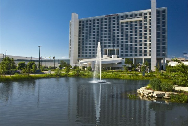 The Renaissance Schaumburg Convention Center Hotel is the site of the 2014 Green Fleet Conference.