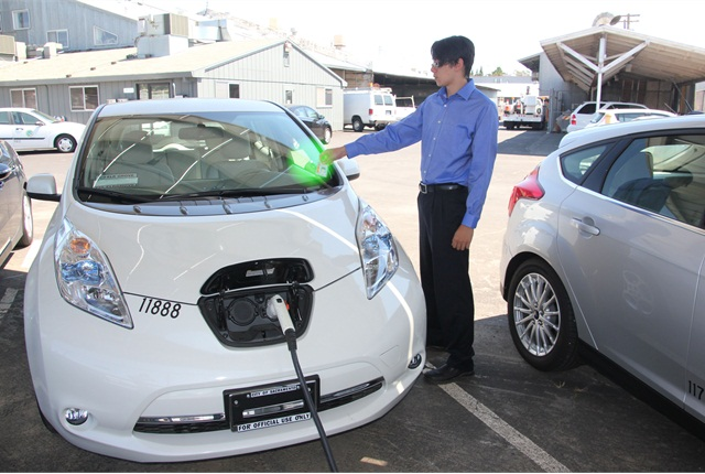 Sacramento launches tap go car share technology for ev for California department of motor vehicles sacramento