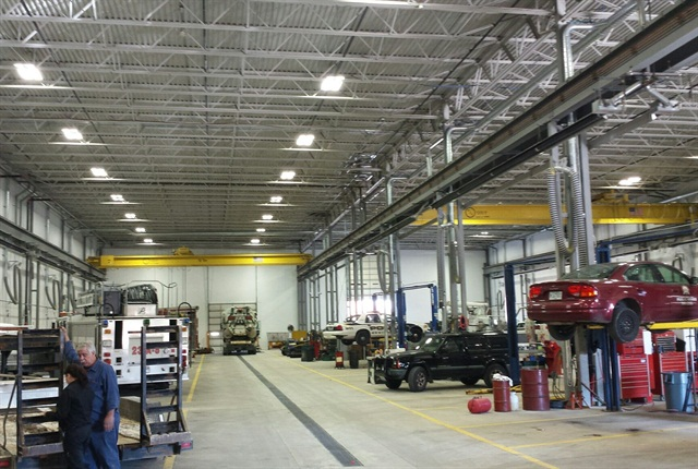 The new consolidated fleet facility has 20 bays. Photo courtesy of city of Springfield.