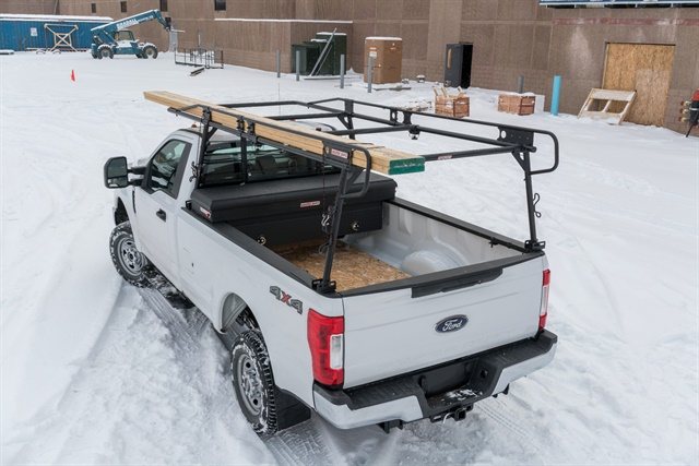 Weather Guard's Steel Truck Rack is designed for easy installation and can secure loads of up to 1,000 pounds. Photo: Weather Guard