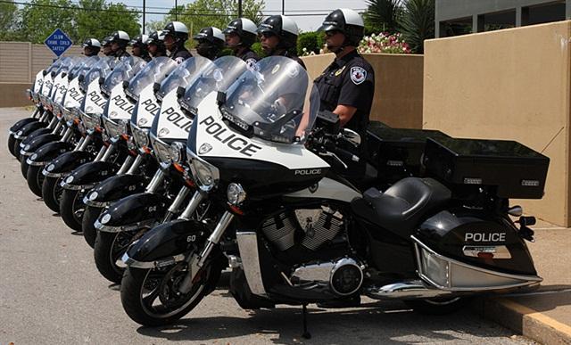 Texas Agency Picks Victory Motorcycle For Motor Patrol