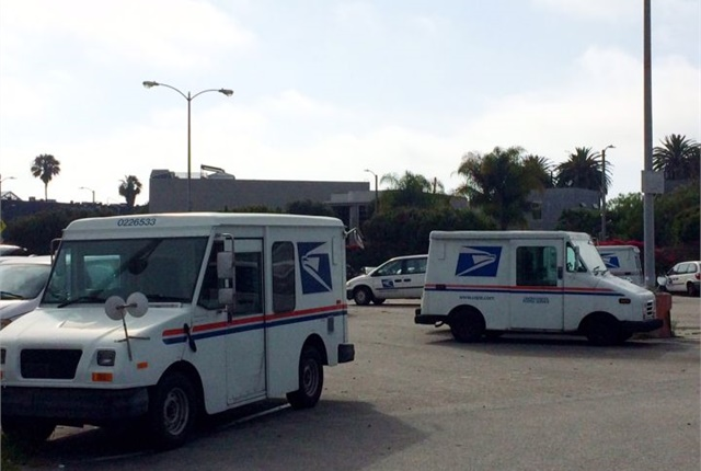 Photo of existing delivery vehicles by Paul Clinton.