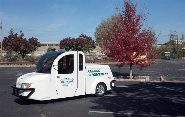 The Chattanooga Area Regional Transportation Authority (CARTA) is using the FireFly ESV for parking enforcement.