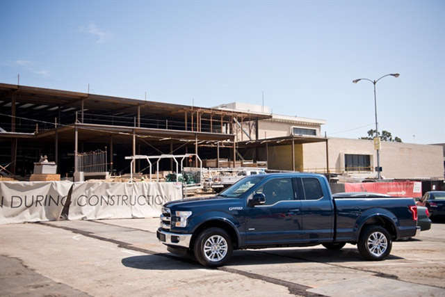 Ford's 2015 F-150 was the top-selling pickup truck, photo courtesy of Vince Taroc.