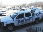 A vehicle currently in use by the Owasso Police Department. The Owasso City Council recently approved the purchase of 12 new patrol vehicles and 12 in-car cameras. Photo via Flickr/DiamondBack Truck Covers