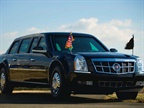 Photo of the 2009 presidential limousine courtesy of the United States Secret Service