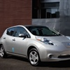 The City of Houston is working to purchase two Nissan Leaf electric vehicles for its City fleet. (Photo courtesy Nissan)