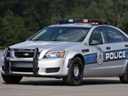 GM made a number of changes to the 2014 Chevrolet Caprice PPV, from a new surveillance mode to new front seats. Photo courtesy GM.