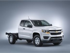 With 2,244 pounds (maximum) payload, the box delete provides the opportunity for service body, stake body, and other aftermarket applications. (PHOTO: GM)