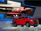 The 2015 Chevrolet Colorado debuted last November at the Los Angeles Auto Show. Photo by Steve Fecht for Chevrolet.