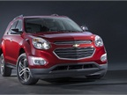 Photo of 2016 Chevrolet Equinox LTZ courtesy of GM.