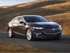 The lease plan includes 14 2017 Chevrolet Malibu sedans. Photo courtesy of GM