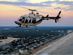 The Missouri State Highway Patrol uses a Bell 407 helicopter like this one. Photo courtesy of Bell.