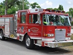 Pierce received an order for five Pierce Arrow XT custom pumpers from the Birmingham Fire & Rescue Service in Birmingham, Alabama. Photo courtesy Pierce Manufacturing.
