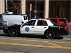 Photo of SFPD patrol car via Wikimedia.