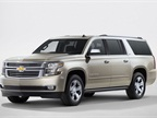 Photo of 2016 Chevrolet Suburban (not Heavy Duty model) courtesy of GM.