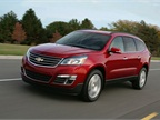 Photo of 2013 Chevrolet Traverse courtesy of GM.