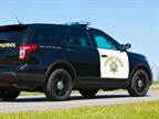 Ford's Police Interceptor Utility. Photo courtesy: California Highway Parol.