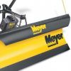 Meyer EZ- Mount xpress snowplow shown with optional deflector.