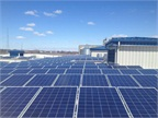 The City of Columbus, Ohio, is using solar power for its fleet facility. Photo courtesy City of Columbus.