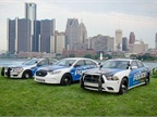 Businesses donated $8 million last year for the city to purchase new public safety vehicles. Photo courtesy of Detroit PD