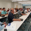 Cerritos College's SCCT center hosted 45 fleet professionals at a  Municipal Equipment Maintenance Association (MEMA) meeting on July 21.<br />