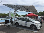 In June, New York City ordered thirty-two EV ARC units, valued at $2.14M — Envision's largest order. Photo courtesy of Envision Solar.