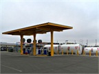 EWEB's renewable diesel fueling station. Photo courtesy of Oregon Department of Energy