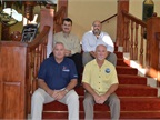 2014-2015 FLAGFA officers pictured are: (back row, left to right) Sean Williams, vice-president; Daryl Greenlee, treasurer; (front row, left to right): Gary McLean, secretary; and Tim Calhoun, president.