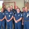 The City of Jacksonville Fleet Maintenance division pause for a moment to snap a photo.