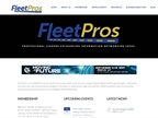 Screencapture of www.fleetpros.org