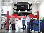 Photo of Commercial Vehicle Center interior courtesy of Ford.