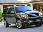 Photo of 2015 Expedition Platinum courtesy of Ford.