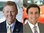 Photos of Alan Mulally (left) and Mark Fields courtesy of Ford.