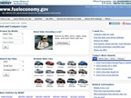 Screencapture of www.fueleconomy.gov
