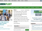 Green Fleet Magazine Relaunches Website